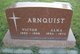 "Profile photo:  Andrew Victor ""Victor"" Arnquist"
