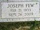 Joseph Few