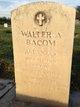 Walter A Bacom