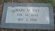 Mary M <I>McKinley</I> Hay