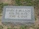 Mary Parlee <I>Stowe</I> McLain