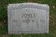 Alice M Jones