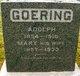 Profile photo:  Adolph Goering