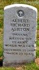 """Profile photo:   Albert Richard """" """" <I> </I> Ashton,"""