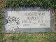Maggie May <I>McCaig</I> Manasco