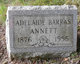 Profile photo:  Adelaide <I>Barras</I> Annett