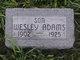 """Charles Wesley """"Wesley"""" Adams"""