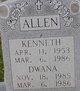 Kenneth Earl Allen