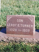 LeRoy Earl Turner