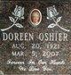 Doreen Elsie Oshier