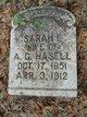 Profile photo:  Sarah Isabel <I>Ellis</I> Hasell