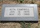Alta <I>Poe</I> Campbell