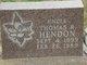 Thomas Reed Hendon