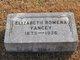 Elizabeth Rowena <I>Neal</I> Yancey