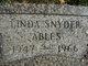 Profile photo:  Linda <I>Snyder</I> Ables
