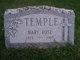 "Marie Rose ""Mary"" <I>Laplante</I> Temple"