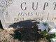 Profile photo:  Agnes <I>Upchurch</I> Gupton