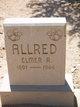 """Ira Elmer """"Elmer R."""" Allred"""