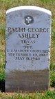 Profile photo:  Ralph George Ashley