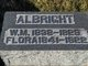 Profile photo:  W. M. Albright