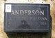 Gertrude Johanna <I>Pfeifer</I> Anderson