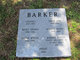 """Sarah Jane """"Sallie"""" <I>Thomas</I> Barker"""