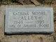Katrina <I>Moore</I> Alley
