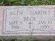 Beth <I>Hardes</I> Beck