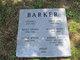 """Francis Hughes """"Frank"""" Barker"""