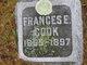 Frances B <I>Felton</I> Cook