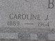 "Profile photo:  Caroline J. ""Lena"" <I>Keller</I> Berst"