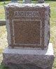 Emma F. <I>Earl</I> Anderson