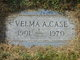 Profile photo:  Velma A. Case