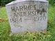 Harriet <I>Riddle</I> Anderson