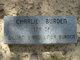 Charlie Burden