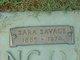 "Sara Alice ""Sallie"" <I>Savage</I> Manning"