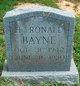H. Ronald Bayne