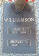 Max F Williamson