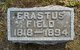 Profile photo:  Erastus Field