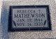 Rebecca Tennessee <I>Hutcheson</I> Mathewson