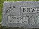 "Profile photo:  Gertrude Louise ""Trudy"" <I>Rule</I> Bowen"