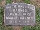 """Profile photo:  Mabel """"May"""" Barnes"""