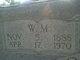 """William Monroe """"Bill"""" Coston"""