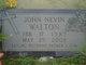 John Nevin Walton