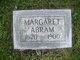 Profile photo:  Margaret Abram