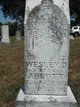 Profile photo:  Wesley D Abbott