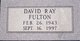 David Ray Fulton, Sr
