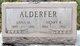 Mrs Anna <I>Moore</I> Alderfer