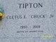Cletus E. Chuck Tipton, Jr