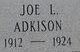 Profile photo:  Joseph L. Adkison